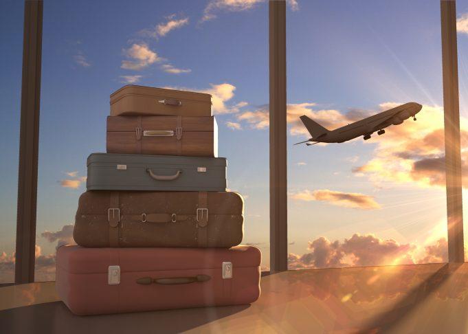 Fly og kufferter