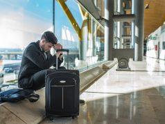 Forsinket flyrejse