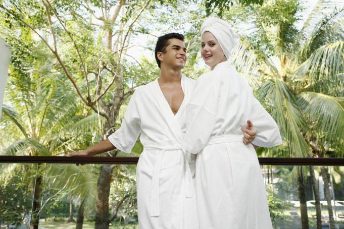 Par på hotel