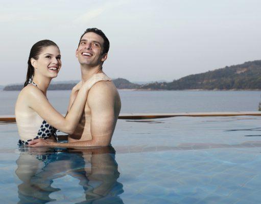 Par i poolen